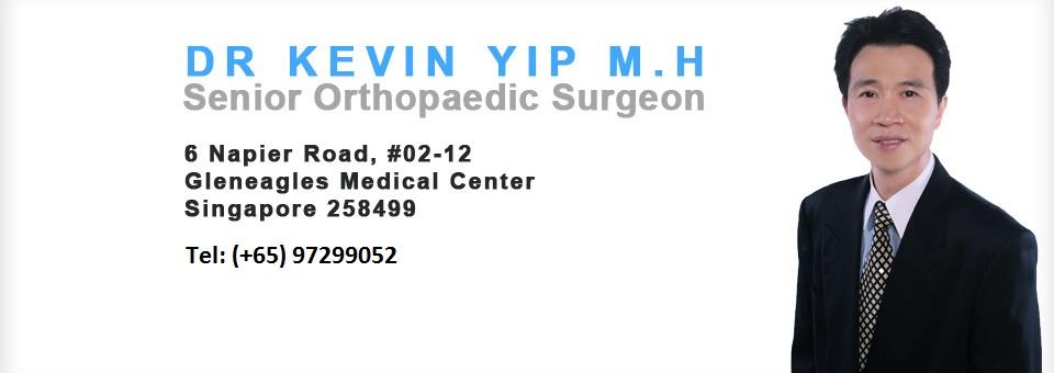 Orthopaedics Singapore Dr Kevin Yip